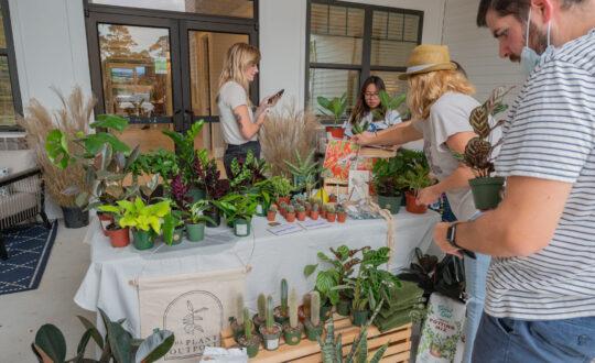 Resident plant sale